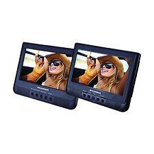 "Sylvania SDVD1010 10.1"" Dual Screen Portable DVD Player with USB/SD Card Slot"