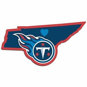 NFL Tennessee Titans Home State Auto Car Window Vinyl Decal Sticker