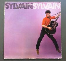SYLVAIN SYLVAIN  - Sylvain Sylvain LP Vinyl Record GD 1979 New York Dolls