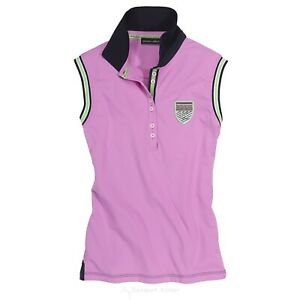 Euro Star Damen Polo Shirt, rose blush, Lotta, o.Arm, Gr. S