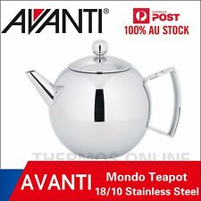New AVANTI Mondo 18/10 Stainless Steel Teapot With infuser 100% Genuine!