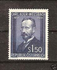 AUSTRIA # 595 MNH CARL AUER-WELSBACH Chemist Science
