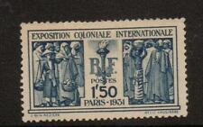 La Francia sg492 1930 Mostra Internazionale Coloniale MTD Nuovo di zecca
