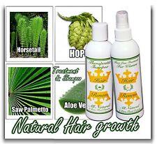 HAIR RENEW 2 Combo natural loss treatment shampoo fast grow menopausal thinning