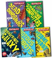 Totally Brilliant Collection 5 Books Box Set Pack Horrible Histories Science New