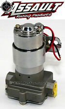 "High Flow Performance Electric Fuel Pump 115GPH Universal Fit 3/8"" NPT Ports"