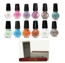 konad 14x pastel  special polish+ itay beauty 2 nail buffer+file