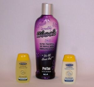 Pro Tan Incredibly Black Sunbed Tanning Lotion