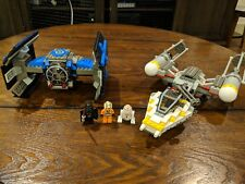 LEGO Tie Fighter & Y Wing (7150) 100% complete with minifigs. Ships in 24hrs