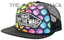 J350 - Vans Beach Girl Trucker Late Night Hat / Cap * NWT Womens Snapback #25956