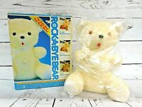 Rushton Plush Rock-A-Bye Bear with womb sounds Vintage Collectible Brand New