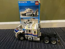 Vintage Lego 5580 Model Team Highway Big Rig Complete with Manual 1986 No Box