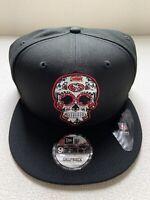 San Francisco 49ers New Era 9Fifty 950 Sugar Skull Sugarskull Hat Snapback NEW