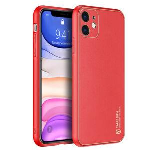 For Apple iphone 12 Pro Max 12mini Phone Case Fashion Leather Back Cover TPU+PC