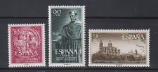 ESPAÑA (1953) NUEVO SIN FIJASELLLOS - EDIFIL 1126/28 UNIVERSIDAD DE SALAMANCA