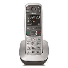 Gigaset E 560 platin Seniorentelefon große Ziffernanzeige Hörgerätekompatibel