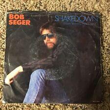 Bob Seger - Shakedown Vinyl 45 rpm Columbia Records Beverly Hills Cop 1987