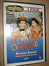 DVD ALVARO PIUTTOSTO CORSARO GARINEI GIOVANNINI COMMEDIA MUSICALE I FILM