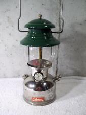 Vintage Coleman Camping Gas Lantern Single Mantle Model 202 Professional 10 61
