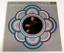 Decca SXL 6482 Saint-Saens Symphony 3, Zubin Mehta/Los Angeles Philiharmonic