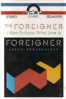 Foreigner .. Agent Provocateur....CS Import Cassette Tape