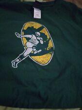 Reebok NFL Green Bay Packers T-shirt Men's Size L Retro Design Logo HTF