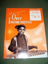 Orchestrations for Orff Instruments Gr. 5 by McGraw-Hill Staff (1998, Workbook)