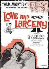 LOVE AND LARCENY (1960) DVD w/Vittorio Gassman & Dorian Gray dir. Dino Risi RARE
