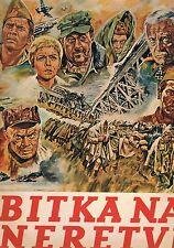 THE BATTLE OF NERETVA - KRAS EMPTY STICKER ALBUM + COMPLETE 120 STICKER SET