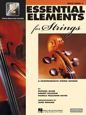Essential Elements for Strings Book 1 with Eei Cello Strings Book Medi 000868051