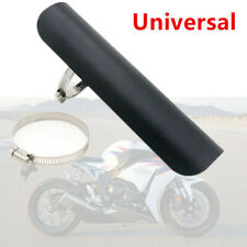 Exhaust Muffler Pipe Heat Shield Cover Heel Guard For Motorcycle Chopper Custom