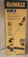 NEW OPEN BOX Dewalt 20VMAX Lithium-Ion Cordless String Trimmer & Blower Kit $298
