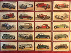 1936+JOHN+PLAYER-MOTOR+CARS+A+SERIES-COMPLETE+50+CARD+SET-CIGARETTE+CARDS-C+PICS