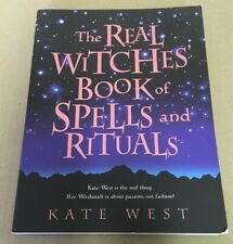 Real Witches Book Of Spells And Rituals Kate West Witchcraft Element 2003