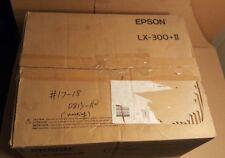 Epson LX-300+II Dot Matrix Printer (USB/Parallel)