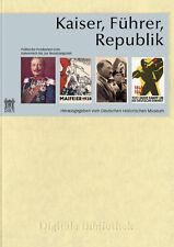 EMPERADOR Führer República Alemán TARJETAS POSTALES CD DIGITAL Biblioteca nr. 92