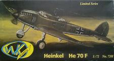WK models 7201 Heinkel He 70 F 1:72 Neu, Bauteile versiegelt