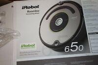 iRobot Roomba 650 Automatic Robotic Vacuum Programmable With Original Box