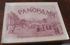 LE PANORAMA DE L' EXPOSITION UNIVERSELLE PARIS 1900  N°8 neurdein baschet