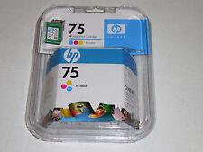 HP 75 Genuine Inkjet Print Cartridge Tri Color Warranty Date Ends Nov 2010 NEW