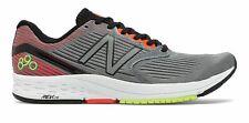New Balance Hombre Zapatos Gris Con Rojo 890v6