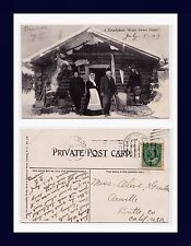 CANADA YUKON DAWSON KLONDYKERS HOME SWEET HOME 1907 TO OLIVE GRUBBS, OROVILLE
