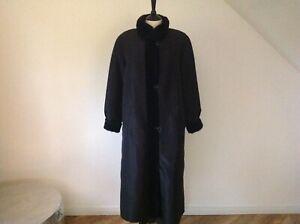 Vintage Marvin Richards Faux Fur Reversible Coat Size XS  U.K Size 8-10