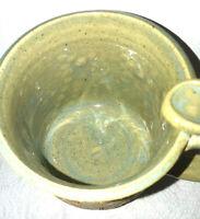 Cat Lover Pottery Stoneware Mug Cup Saucer Handmade Art Studio 12 oz