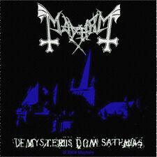 Mayhem-patch écusson-De Mysteriis Dom 10x10cm