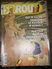 Spirou N° 3394 2003 BD Papyrus Le masque d'Horus Mélusine Les petits hommes