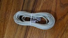 Telephone Cable (Pvc) Ivory 25ft.