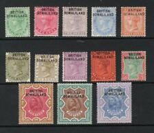 Somaliland 1903 Queen Victoria Complete Set - OG MH - SC# 1-13  Cats $178.75