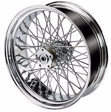 "18"" REAR 60 SPOKE 200mm WHEEL 18 X 5.5"" HARLEY SOFTAIL RIGID CUSTOM CHOPPER"