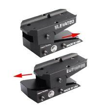 Tactical Adjustable Height Slide Red Dot Mount Adapter Riser Sight Mount